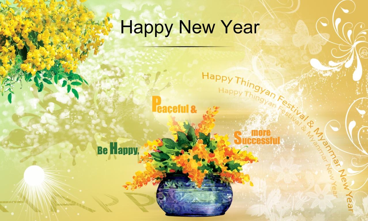happy myanmar new year